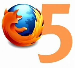 Firefox 5 update
